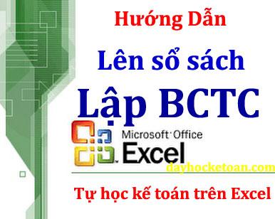 hướng dẫn cách lập sổ kế toán trên excel