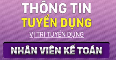 Công ty CP Thiết bị và giải pháp phần mềm Việt Nam - QT Tuyển kế toán nội bộ