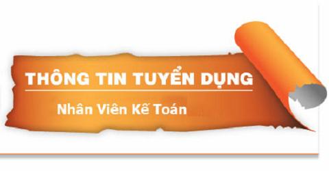 Công ty TNHH TM & DV Suchin cần tuyển 1 kế toán tổng hợp