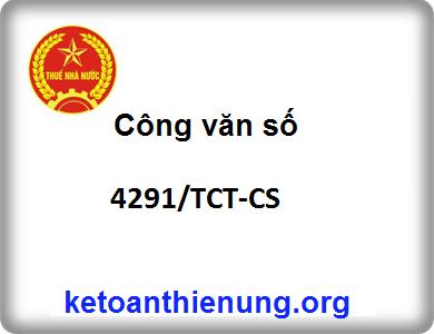 Công văn 4291/TCT-CS về việc viết tắt tên, địa chỉ trên hóa đơn GTGT