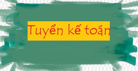 Cty TNHH đầu tư thương mại Hà Trang Tuyển kế toán - thu ngân