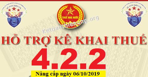 Phần mềm HTKK 4.2.2 mới nhất 06/10/2019