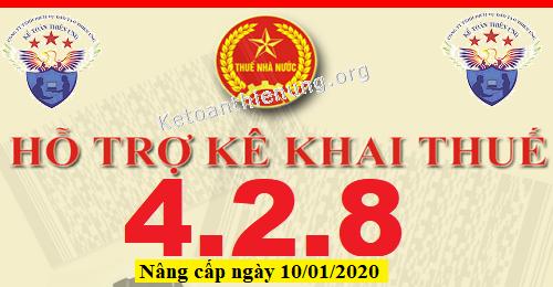 Phần mềm HTKK 4.2.8 mới nhất 10/01/2020