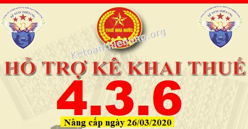Phần mềm HTKK 4.3.6 mới nhất 26/03/2020