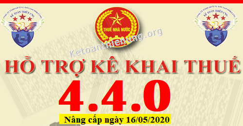 Phần mềm HTKK 4.4.0 mới nhất 16/05/2020