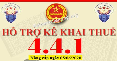 Phần mềm HTKK 4.4.1 mới nhất 05/06/2020