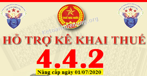 Phần mềm HTKK 4.4.2 mới nhất 01/07/2020