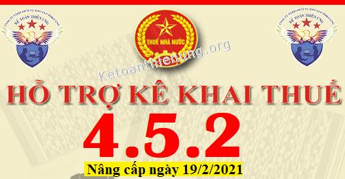 Phần mềm HTKK 4.5.2 mới nhất 19/02/2021