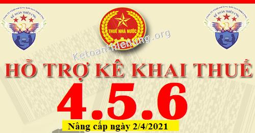 Phần mềm HTKK 4.5.6 mới nhất 02/04/2021