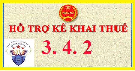 Phần mềm kê khai thuế HTKK 3.4.2 mới nhất