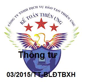 Thông tư 03/2015/TT-BLĐTBXH quy định tiền lương đã đóng BHXH