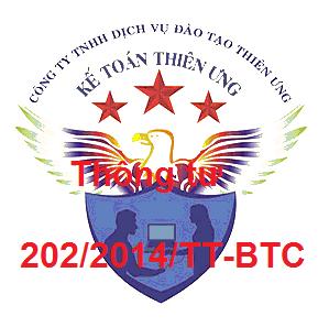 Thông tư 202/2014/TT-BTC Cách lập và trình bày BCTC hợp nhất
