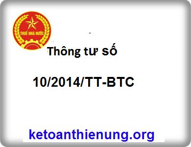Thông tư số 10/2014/TT-BTC mức xử phạt vi phạm về hóa đơn