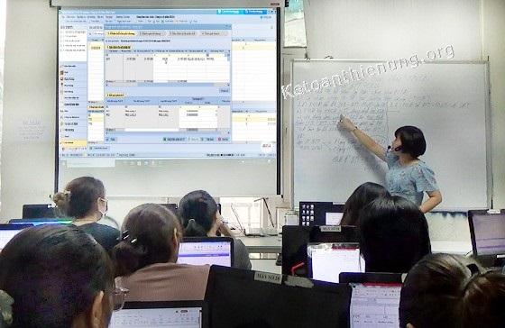Khóa học phần mềm Misa (lập Báo cáo tài chính trên Misa)