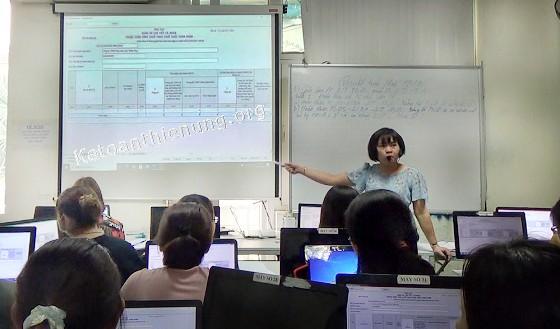 Trung tâm Kế toán Thiên Ưng có các khóa học sau
